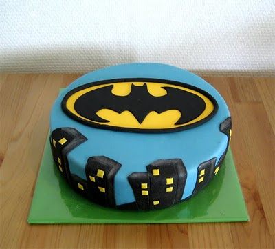 Batman theme Cakes and Cupcakes