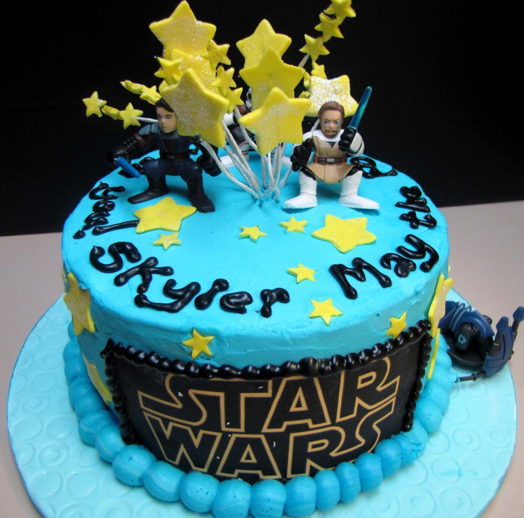 25 Star Wars Themed Birthday Cakes