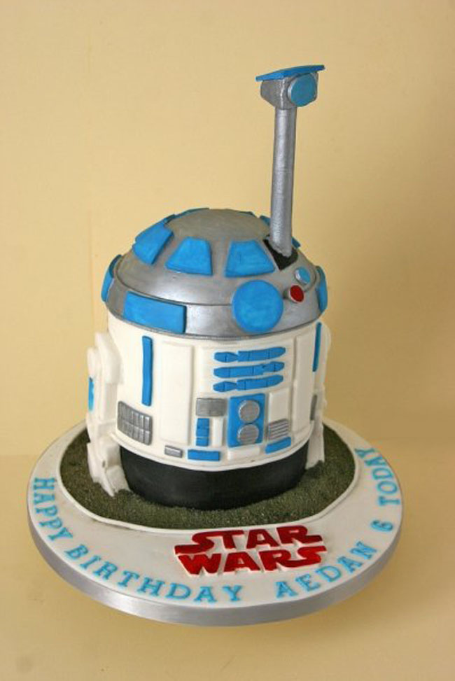25 Star Wars Themed Birthday Cakes Cakes And Cupcakes Mumbai