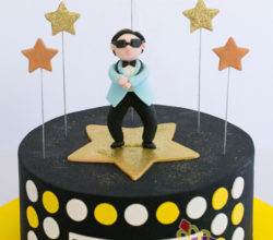 Say Happy Birthday 'Oppa Gangnam Style' Cakes and Cupcakes