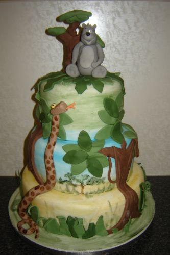 Jungle Book Themed Birthday Cakes And Cupcakes Cakes And