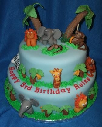 Jungle Book themed Birthday Cakes and Cupcakes Cakes and Cupcakes