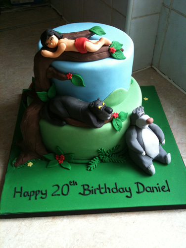 Jungle Book themed Birthday Cakes and Cupcakes Cakes and ...