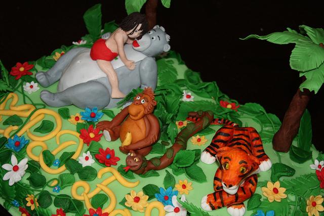 Birthday Cakes Jungle Theme ~ Jungle book themed birthday cakes and cupcakes cakes and
