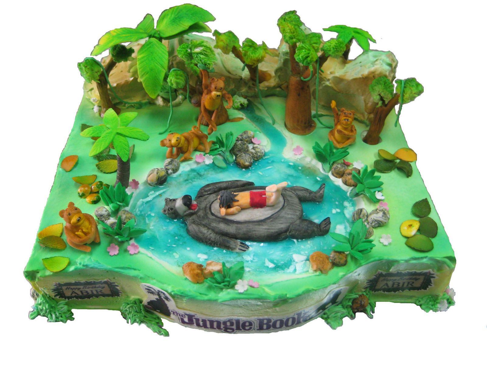 Birthday Cake Ideas Jungle Theme : Jungle Book themed Birthday Cakes and Cupcakes Cakes and ...