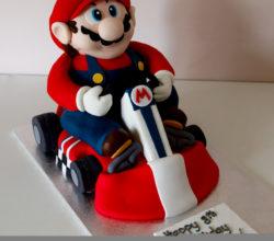 Super Mario Bros Birthday and Wedding Cakes
