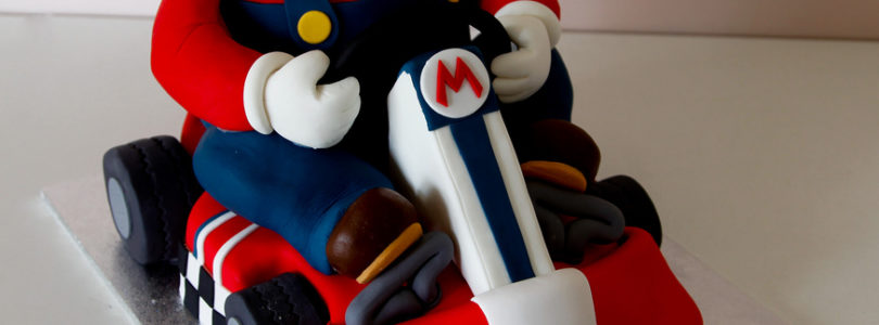 Super Mario Bros Birthday and Wedding Cakes