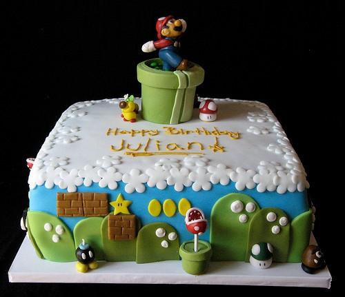 Super Mario Bros Birthday and Wedding Cakes | Cakes and ...