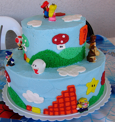 Super Mario Bros Birthday and Wedding Cakes Cakes and Cupcakes Mumbai