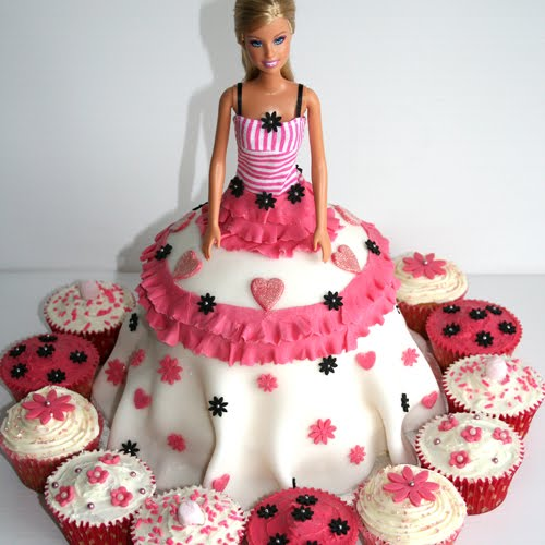 Best Barbie Doll Themed Birthday Cakes And Cupcakes
