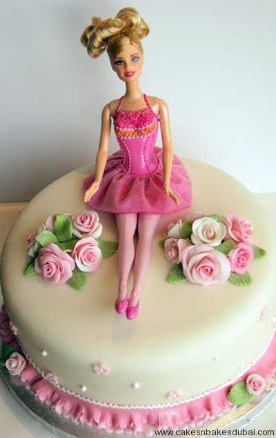 100 Best Barbie Doll Theme Birthday Cakes and Cupcakes ...