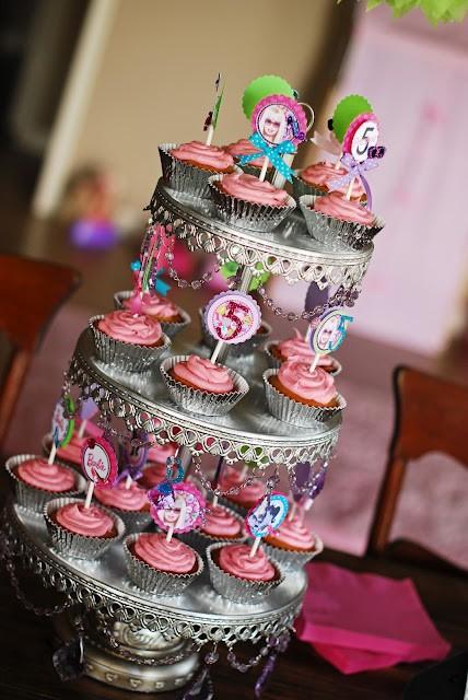 barbie ballerina princess theme birthday cakes cupcakes mumbai 19