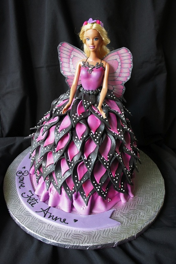Images Of A Barbie Cake : 100 Best Barbie Doll Theme Birthday Cakes and Cupcakes ...