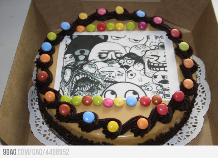 Internet Meme And Rage Comics Cakes And Cupcakes Cakes And