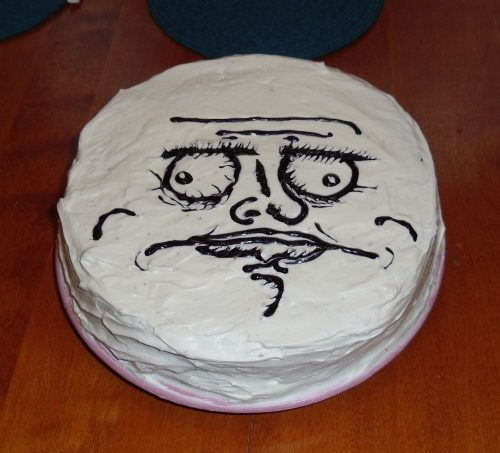 Internet Meme And Rage Comics Cakes And Cupcakes