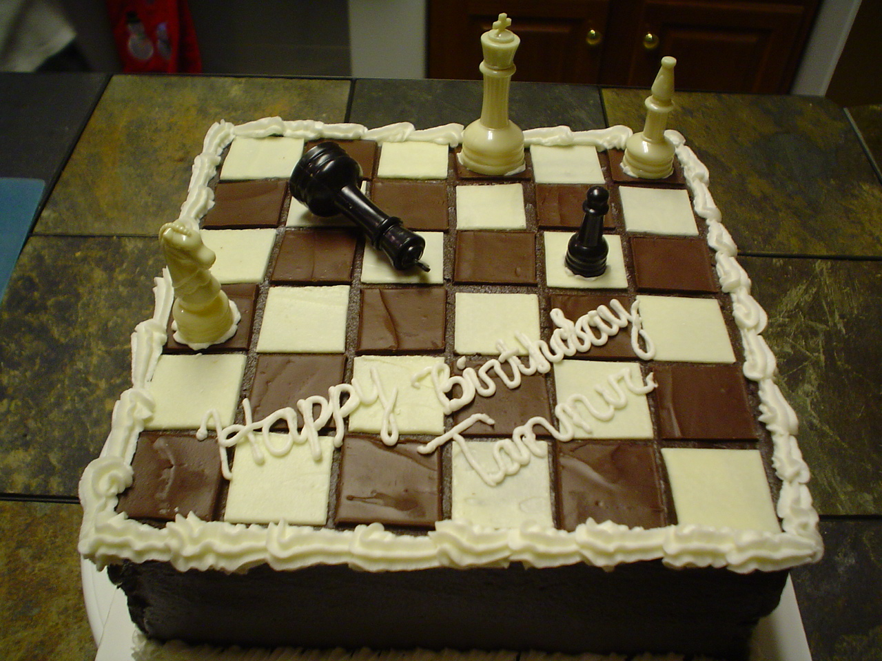 Chess Themed Cakes