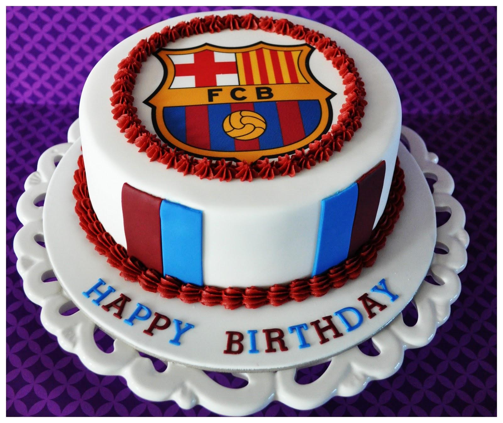 Fcb Football Team Logo Cakes Cupcakes Mumbai 11 Cakes And Cupcakes Mumbai