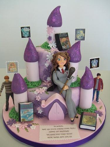 Harry potter birthday theme cakes cupcakes mumbai 29