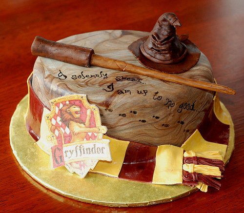 Harry Potter Birthday Cake Caroline