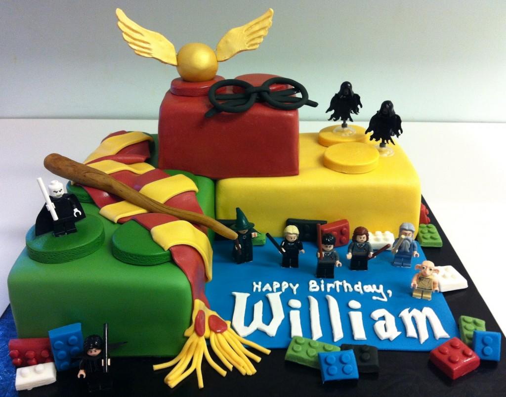 Birthday Cake Ideas Lego ~ Harry potter birthday cakes and cupcakes cakes and cupcakes