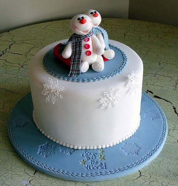 Christmas Cake Decoration Snowman : christmas cakes cupcakes idea Archives - Cakes and ...