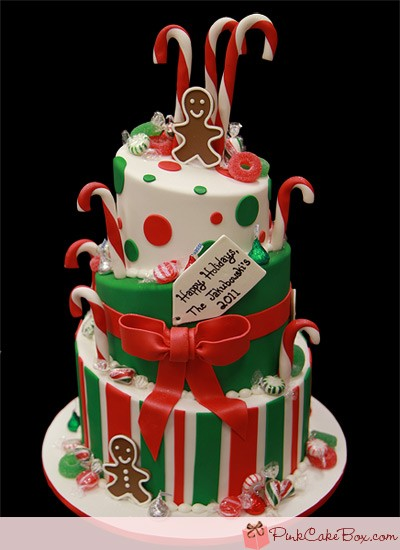 Christmas Wishes Cake Images : Christmas Theme Cakes and Cupcakes - Cakes and Cupcakes Mumbai