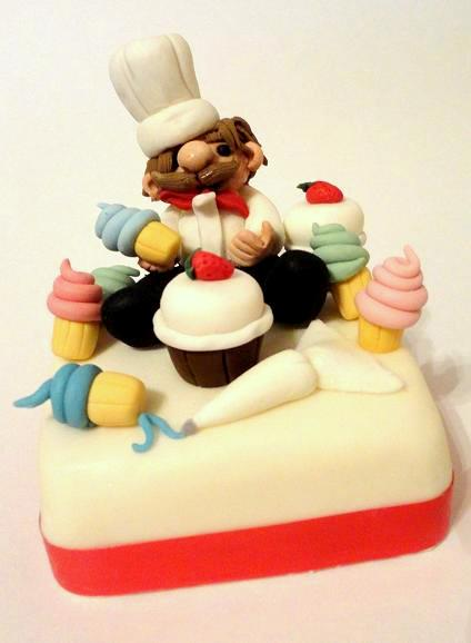 Chef themed Cakes and Cupcakes - Cakes and Cupcakes Mumbai
