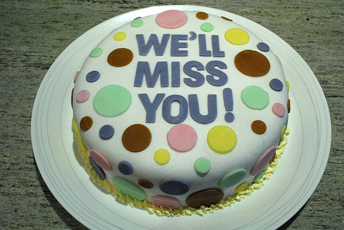 Goodbye Cake Images : Farewell and Goodbye Cakes and Cupcakes - Cakes and ...