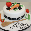 Chef themed Cakes and Cupcakes