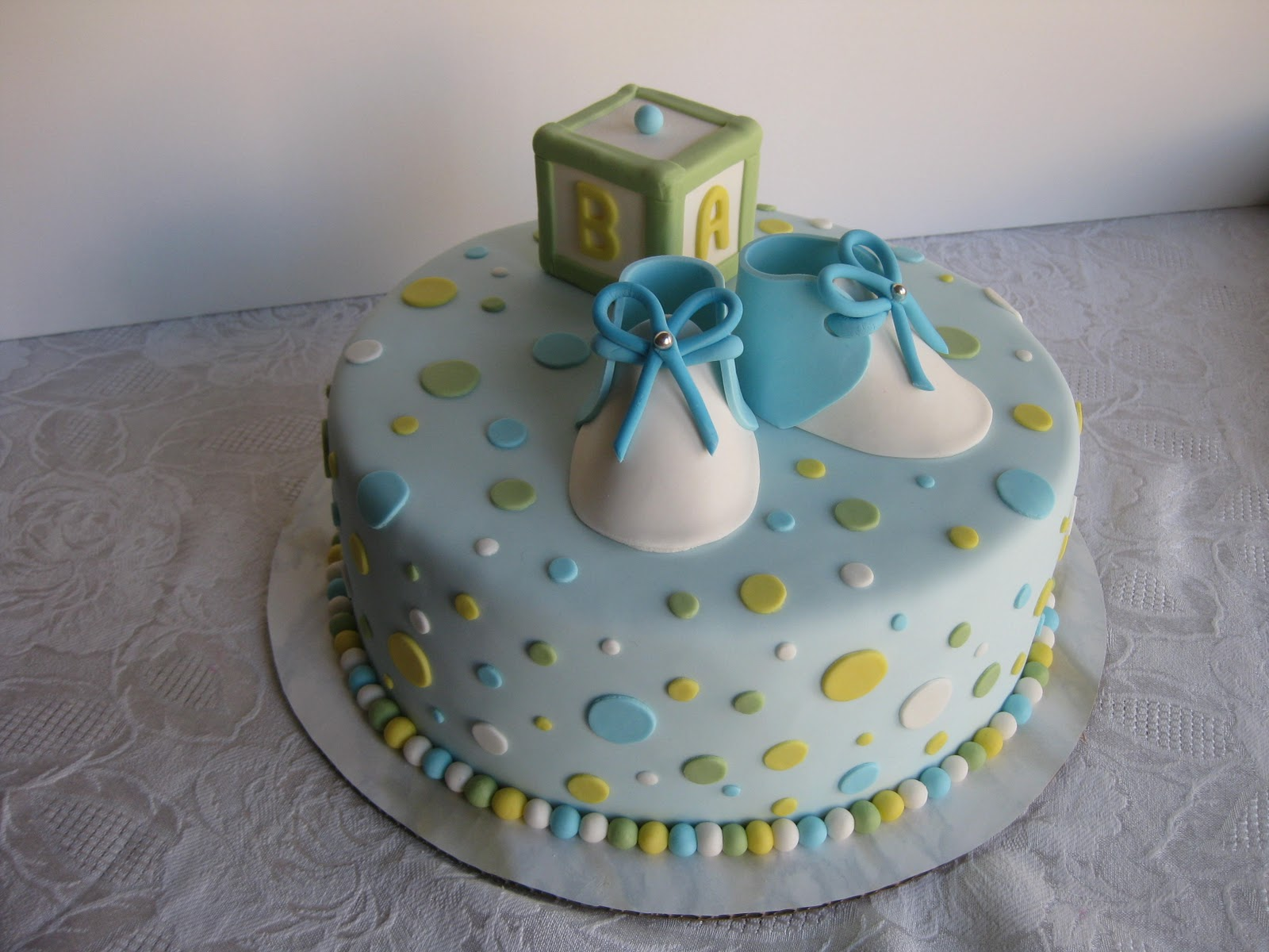 Cake Ideas For New Baby : baby-shower-boy-girl-cakes-cupcakes-mumbai-12 - Cakes and ...