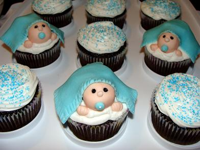 Baby Shower Boy Girl Cakes Cupcakes Mumbai 2