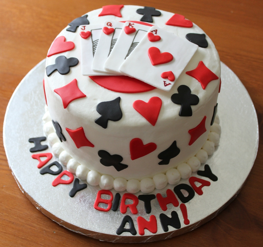 Birthday Cake Images Card : Gamblers Cake Ideas on Pinterest Las Vegas Cake, Theme ...