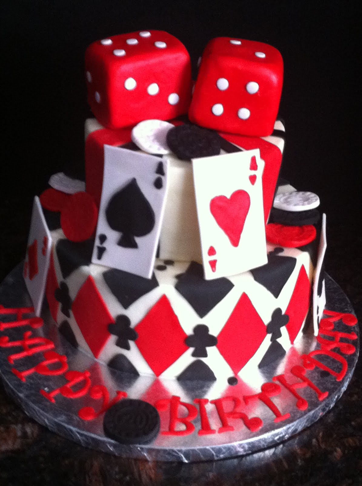 Casino birthday cake ideas what las vegas casinos have caribbean stud poker