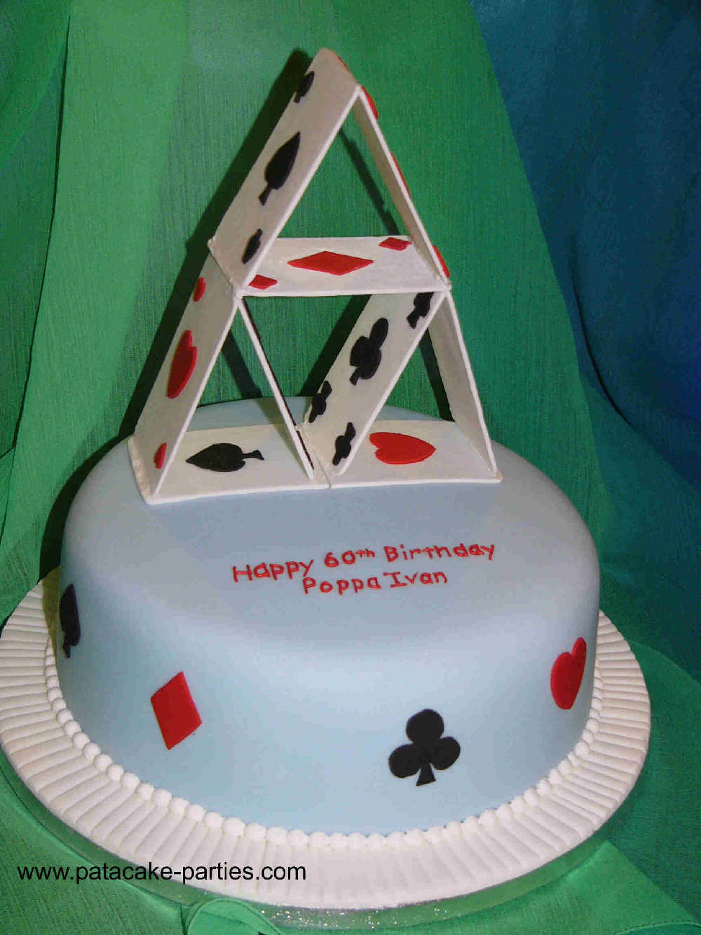 Playing Card Poker Casino Theme Cakes And Cupcakes