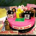 Shopaholic, Born to Shop Theme Cakes and Cupcakes