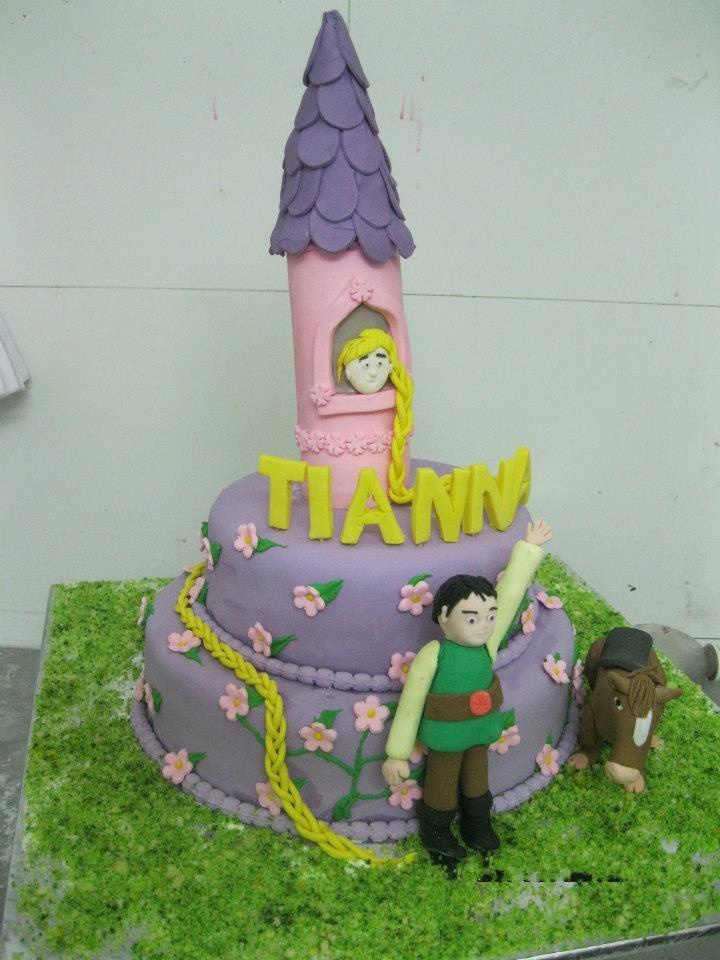pricness-castle-cake