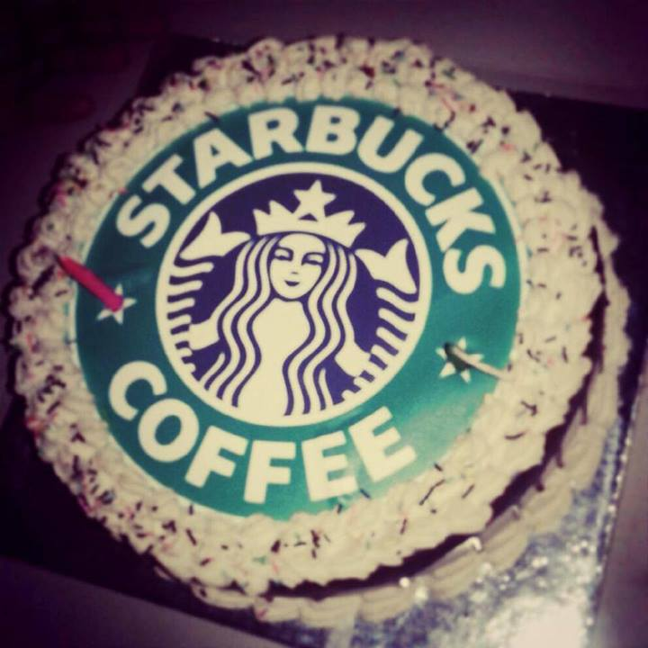 Starbucks Cake Designs