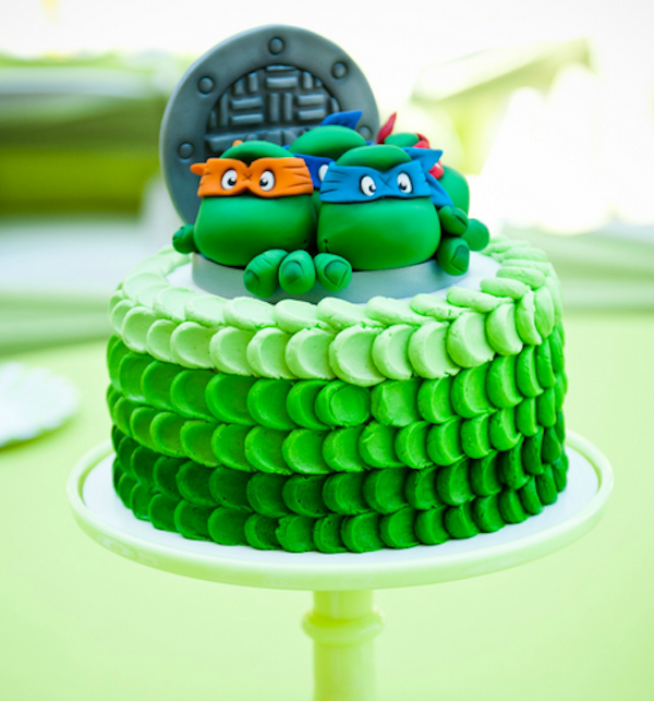 Teenage Mutant Ninja Turtles Designer Theme Birthday Wedding