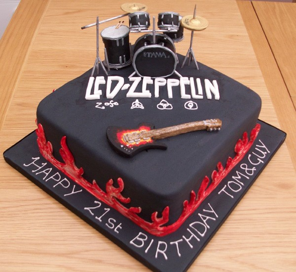 Music theme customised Designer Cakes and Cupcakes - Cakes ...