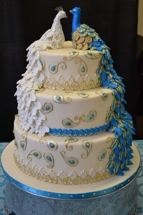 Wedding Cake Latest Design : 51 Designer Wedding and Engagement Cakes 2014 Mumbai