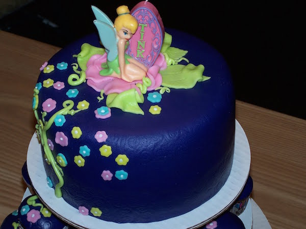 Latest Cake Design For Girl : Tinkerbell Theme Designer Birthday Cakes and Cupcakes Mumbai