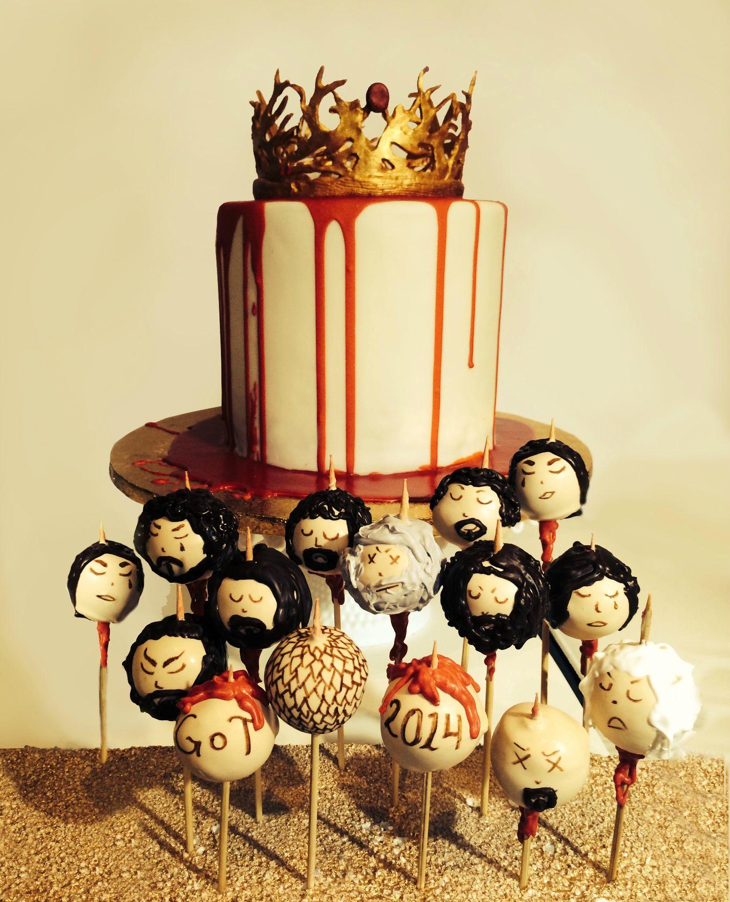 Game Of Thrones Designer Cakes and Cupcakes - Cakes and Cupcakes Mumbai