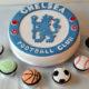 Football Teams, Jerseys Cakes and Cupcakes
