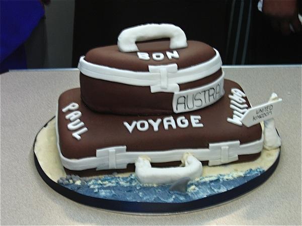 Goodbye Bon Voyage Farewell Cakes Cupcakes Mumbai 32