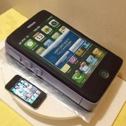 Mobile Iphone Android Cakes Cupcakes Mumbai 14 Cakes And