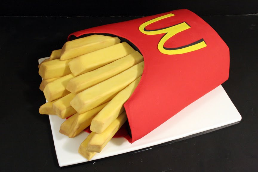 Mcdonalds Fries Designer Theme Birthday Wedding Engagement
